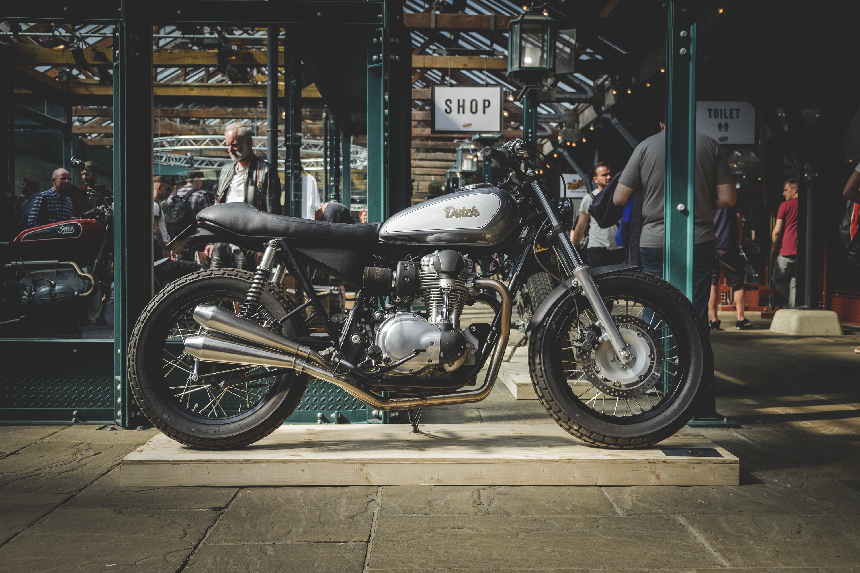 Anthony dutch van someren the bike shed the for Motorcycle shed