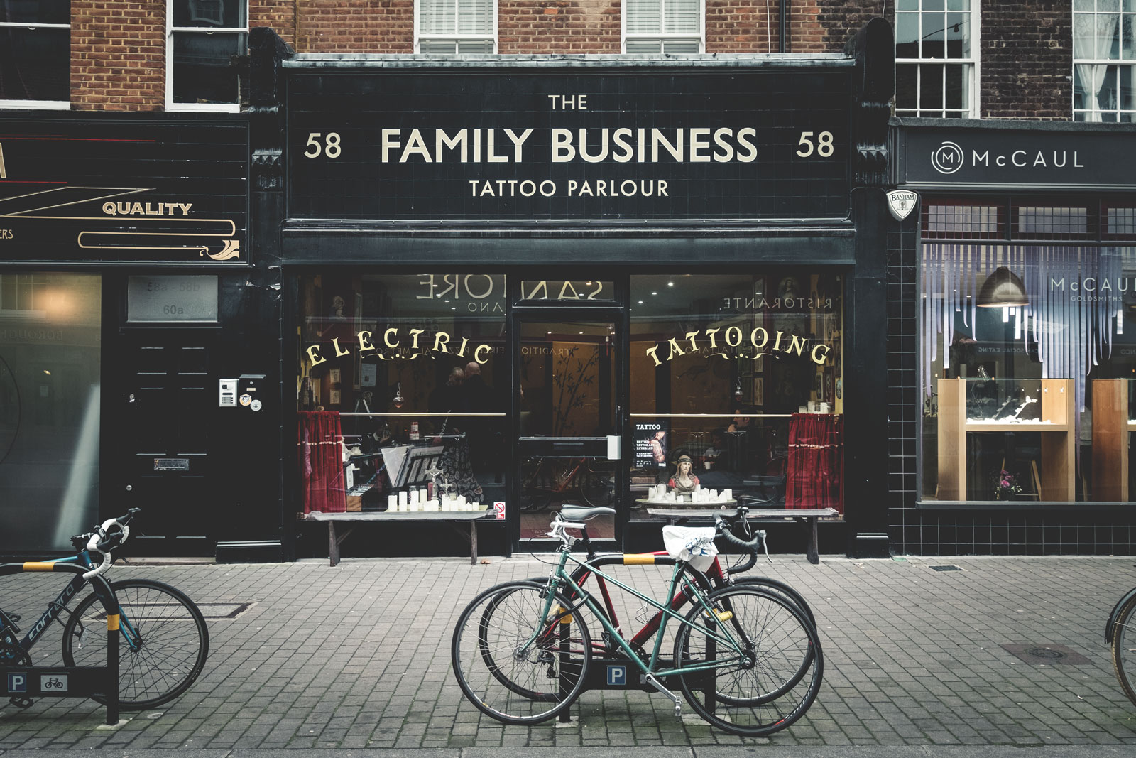 The Family Business Tattoo - Exmouth Market