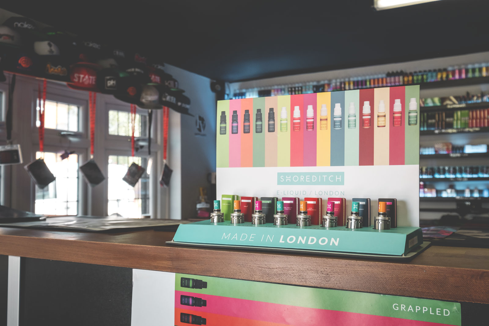 Shoreditch e-liquid at Fattvapes