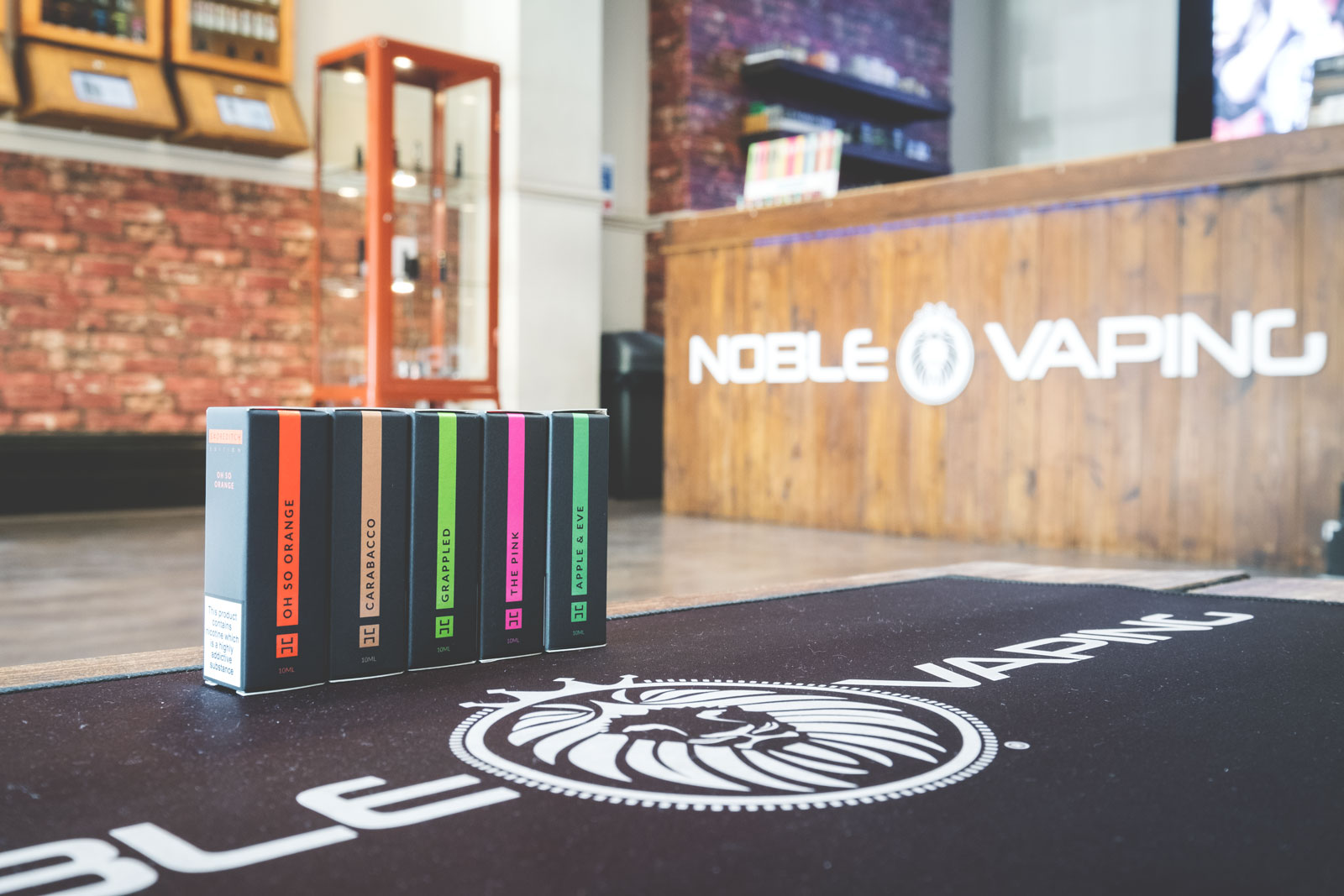 Shoreditch e-liquid at Noble Vaping